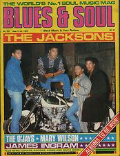 The Jacksons Blues & Soul 1989    The Three Degrees   The O'Jays   Mary Wilson