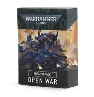Warhammer 40k Open War Mission Pack Cards **New**