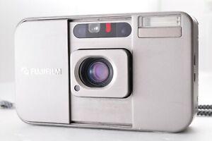 FUJIFILM Cardia mini TIARA 35mm Point & Shoot Film Camera with Strap From JAPAN