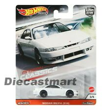 Hot Wheels Nissan Silvia S14 White JDM Car Culture Modern Classics Gjp99