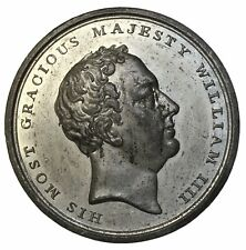 1830 Great Britain William IIII Accession Adelaide Medal By Halliday BHM-1418
