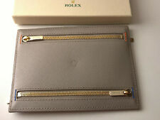 RARE ROLEX LEATHER POCHETTE 4 SLOT NEW COLLECTION CHRISTMAS GIFT 2019/20