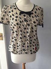 TopShop Animal Print Party Semi Fitted Women's Tops & Shirts