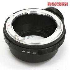Nikon F mount G AF-S lens to Sony E mount NEX adapter tripod A7 A7R A6000
