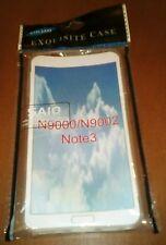 Funda silicona transparente, para el Samsung Galaxy Note 3, N9000 y N9002