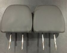 2009-2014 FORD F150 Black Leather REAR SEAT Left And Right HEADREST HEAD REST