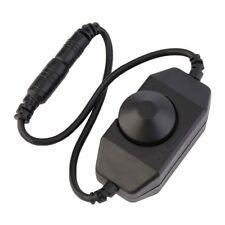 PWM Dimmer Switch In-line Manual Knob Style 12V-24V for 1 Single LED Strip Light