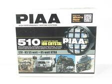 PIAA 510 Series Plasma Ion Yellow Halogen Round Driving Lamp Kit Fog Lights 5161