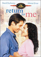 Dvd **RETURN TO ME** con David Duchovny nuovo sigillato 2000