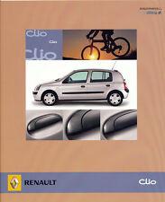 RENAULT-CLIO CAMPUS-PROSPETTO - 05/2005 - tedesco-NL-commercio di spedizione
