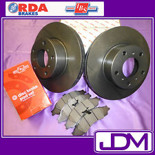 RDA Rear Brake Disc Rotors & IBS Pads to fit Falcon AU Series 2 & 3 FORD FALCON