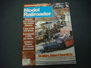 The Model Railroader Magazine, May 1988, North Western, LGB Factory, Norfolk LC1