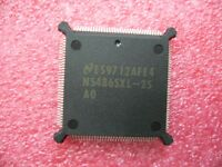 QTY 1x Vintage National Semi 486 CPU NS486SXL-25