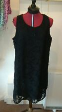 Black lace dress,size 20,gothic,pagan,punk,biker,festival retro party,quirky