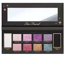 Hot! Newest 10 color TOO FACED GLITTER BOMB EYE SHADOW PALETTE 100% AUTHENTIC