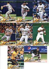 2018 Topps Pittsburgh Pirates Team Set of 8 Baseball Cards (Series 1)