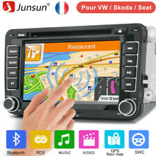 AUTORADIO 2DIN GPS NAVI DVD BLUETOOTH Für VW GOLF 5 PASSAT TOURAN TIGUAN POLO
