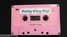 PATTY PLAY PAL DOLL AUDIO CASSETTE TAPE A FAIRYTALE FANTASY 1987 WORKS