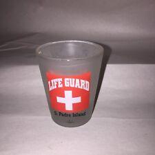 Cool South Padre Island Texas Lifeguard Shot glass                     dk4