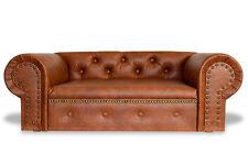 Hundesofa Hundebett Couch Ohio Lux Kunstleder Chesterfield -NEU- Sofa Bett