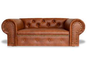 Hundesofa Hundebett Couch Ohio Lux Kunstleder Chesterfield -NEU- Sofa Bed