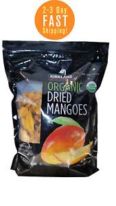 Kirkland Organic Dried Mangoes 2.5LB Bag