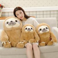 Cute Giant Sloth Pillow Stuffed Plush Animal Doll Soft Toys Cushion Gifts
