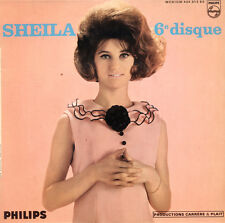 SHEILA 6° Disque FR press Philips 434 913 Mono EP