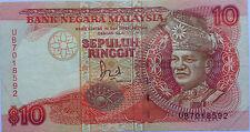 RM10 Jaffar Hussein sign Note UB 7018592
