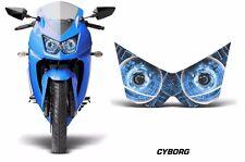 AMR Racing Head Light Eyes Kawasaki Ninja 250R 08-12 Street Bike Headlight CYBRG
