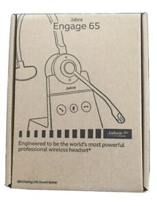 Jabra Engage 65 Noise Cancelling Mono Wireless Headset WHB051BS - BRAND NEW!!