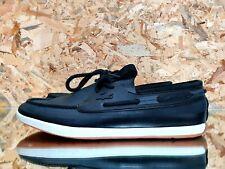Lacoste L.Andsailing 116 2 Boat Shoe Leather Shoes Men Fashion Sneakers Sz 10 US