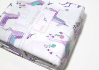 Pottery Barn Kids Magical Unicorn Organic Cotton Flannel Twin Sheet Set New