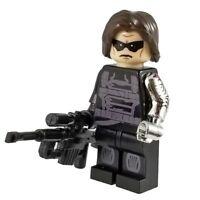 Winter Soldier Marvel Super Hero Custom Minifigure Avengers Captain America War