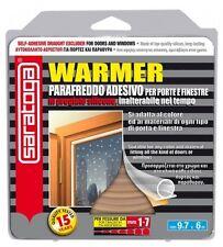 Guarnizione adesiva marrone warmer per porte e finestre da 1 a 7 mm Saratoga