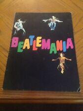 BeatleMania band tour program Super Rare!