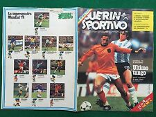 GUERIN SPORTIVO 1978 n 27 con POSTER Gigante SQUADRA ARGENTINA + CAUSIO/ROSSI