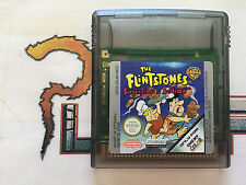 NINTENDO GAME BOY COLOR THE FLINTSTONES BURGER TIME IN BEDROCK CARTUCHO PAL EUR