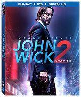 John Wick: Chapter 2 [Blu-ray]+DVD+ Digital HD, DVD, Keanu Reeves, Ian McShane,