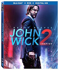 John Wick Chapter 2 Blu-ray DVD Digital HD 2017