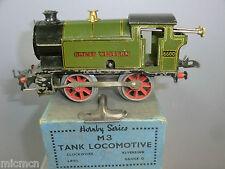 VINTAGE HORNBY '0' C/W No.M3 GWR  No.6660 0-4-0T TANK LOCO       VN MIB