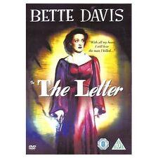 THE LETTER 1940 BETTE DAVIS HERBERT MARSHALL WARNER UK 2005 REGION 2 DVD NEW