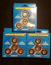 Fidget Spinner Wheel Bearings - Make Your Own - Lot of 3  NEW