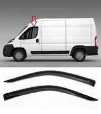 Fit For Peugeot Boxer II 2006-2014 Side Door Window Deflectors