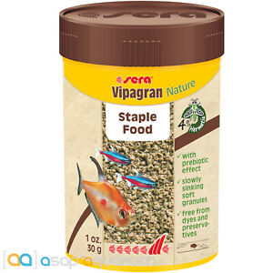 Sera Vipagran Nature 100mL All Natural Premium Freshwater Fish Food Granules