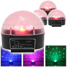 4x Beamz Disco Colour LED Jelly Ball Lights DJ Uplighter Party Lighting