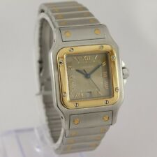 Cartier Santos ref.1566 Steel & Gold +Box