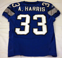 #33 Arlen Harris of Detroit Lions NFL Locker Room Game Issued & Worn Jersey