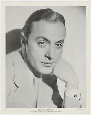 Charles Boyer 1936 R95 8x10 Linen Textured Premium Photo - GARDEN OF ALLAH