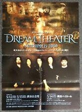 Dream Theater Metropolis 2000 JAPAN CONCERT POSTER